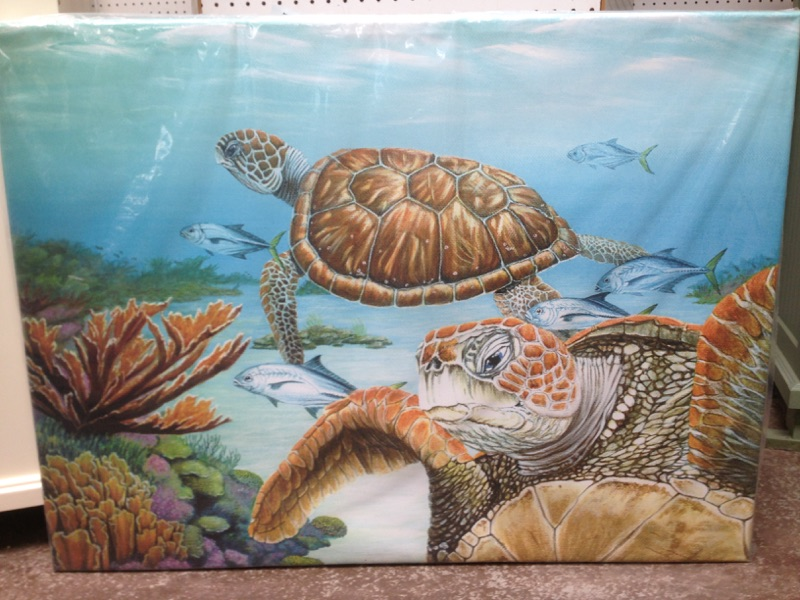 Underwater Painting | Furniture Accessories Supplier in Panama, FL.