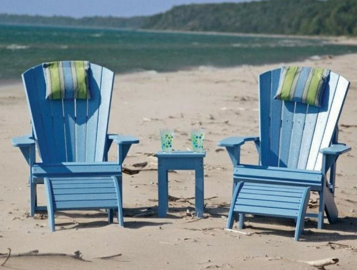 blue-colored commercial patio furniture sets